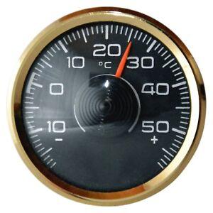 Original-Thermometer-1970-Metall-mit-Magnet-amp-Klebepad-von-RICHTER-HR-Art-3501