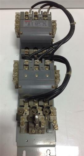FURNAS 45AMPS 600VAC SIZE 2 REVERSING MAGNETIC STARTER  22FP32AFE3 SER B