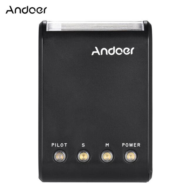 Andoer WS-25 Professional Portable Mini Digital Slave Flash Speedlite C7E8