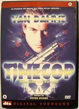 Dvd Timecop - Indagine dal Futuro di Peter Hyams 1994 Usato raro fuori cat.