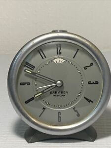 Westclox Baby Ben Style 10 Mechanical Alarm Clock Made In China For PARTS