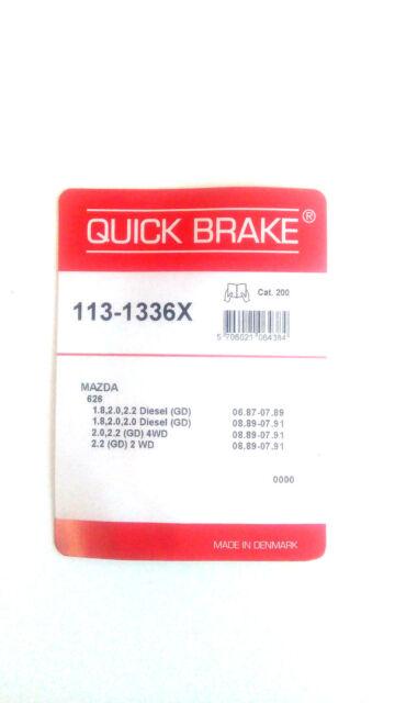 Quick Brake 113-1336X Kit pour Plaquettes de Frein Akebono