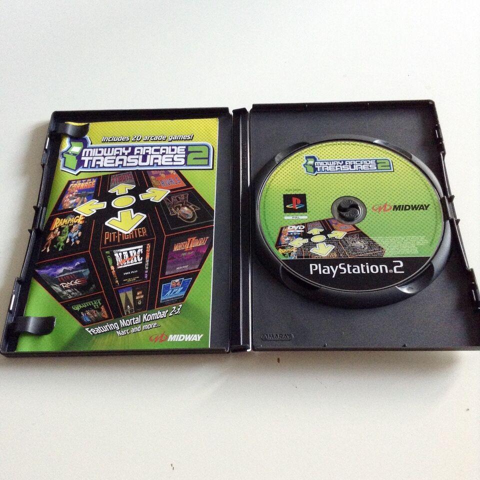 Midway Arcade Treasures 2, PS2, anden genre