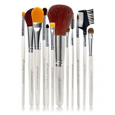 E.l.f. Cosmetics 12 Piece Brush Set, New, Free Shipping