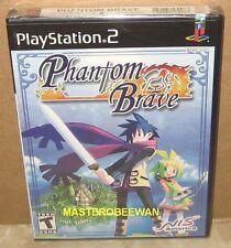 PS2 Phantom Brave New Sealed (Sony PlayStation 2, 2004)