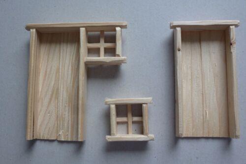 2 Varianten Krippe zum selber bauen Krippenbausatz  Krippe Heustadl