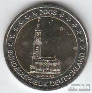 RFA (FR.Allemagne) Jägernr: 534 2008 d brillant universel (BU)