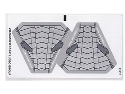 3 x Lego System Gitter Platte gelb 2 x 2 Rettungsinsel Rahmen Käfig Dach 30094