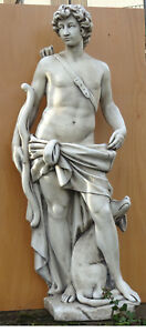 chasseur-avec-son-chien-statue-de-jardin-pierre-reconstituee-140-cm