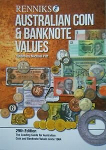 Renniks-AUSTRALIAN-COIN-amp-BANKNOTE-VALUES-29th-Ed-NEW-in-2019-Softcover