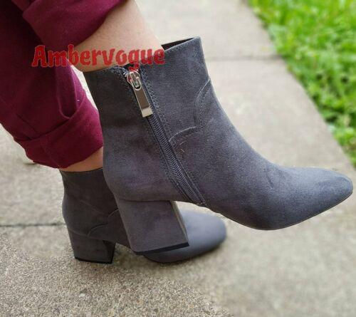 4 Boots Euro Zara Ankle Grey Uk Size 37 q7waxXH