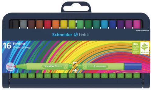 Schneider Link-it Stiftebox 16 Fineliner Doppelstifte 0,4mm 191292