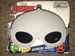 e308a262a1 Image is loading Sunstaches-Thor-Marvel-Character-Sunglasses-Avengers -Kids-Sun