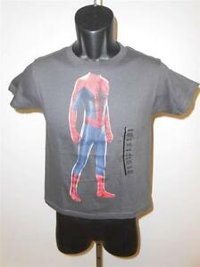 Selbstbewusst Unsicher Hemd Gehemmt Verlegen Neu Marvel Spiderman Jugendgrößen Xs-s-m-l-xl Befangen 6 /7-8-10/12-14/ 16-18/ 20