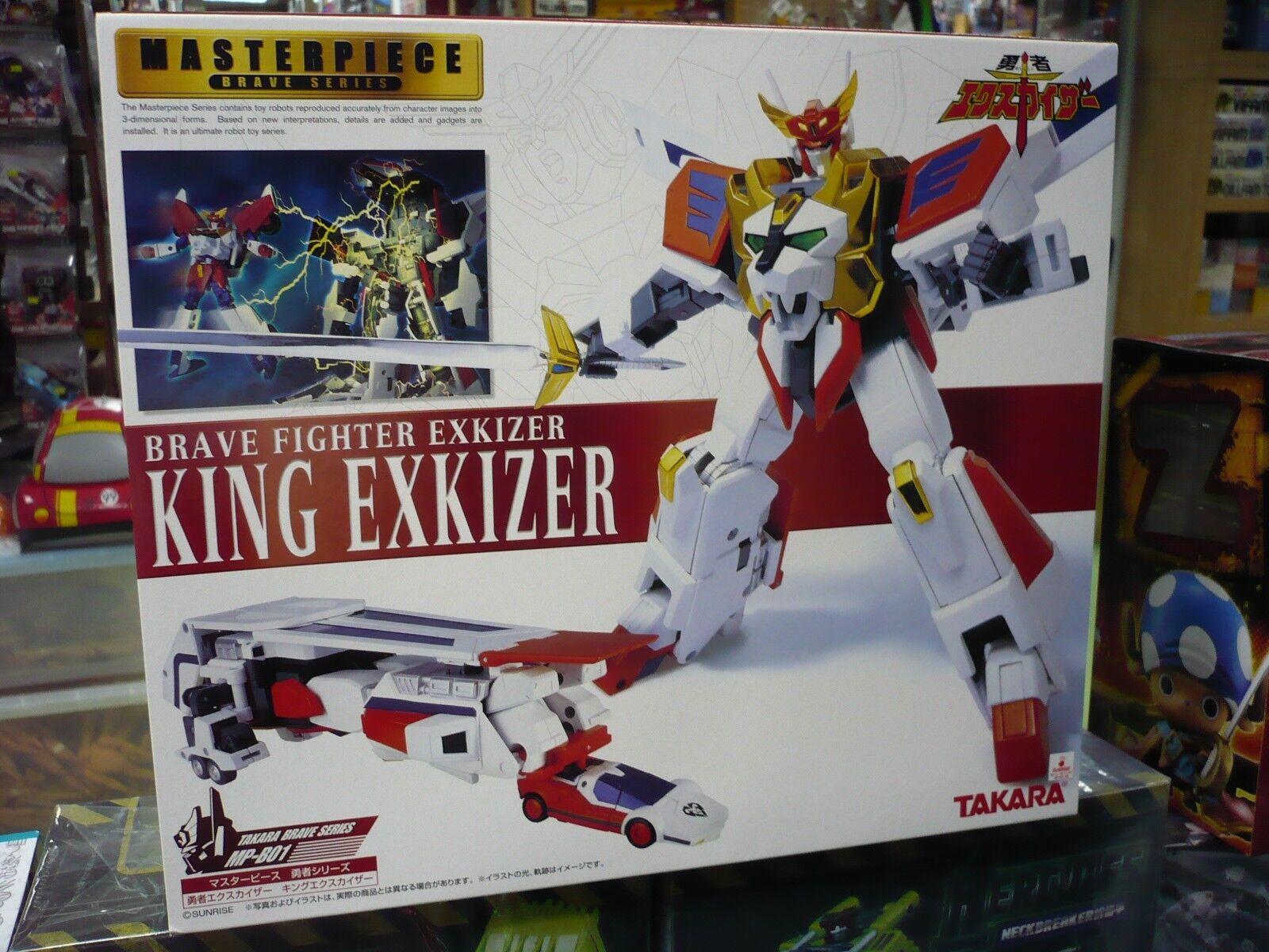 MASTERPIECE Brave Fighter Exkizer MP-B01 KING EXKAISER Action Figure TAKARA TOMY