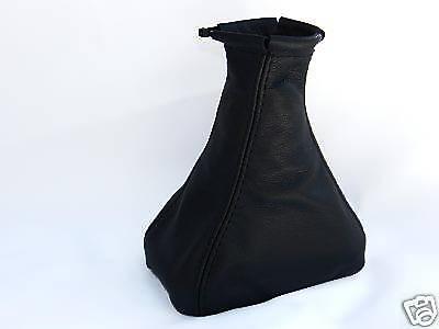 Fits OPEL CORSA A 1982-1993 gear gaiter couverture en cuir noir