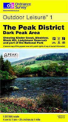 The Peak District: Dark Peak Area (Outdoor Leisure Maps), Ordnance Survey