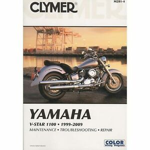 clymer motorbike workshop service repair manual book yamaha v star rh ebay co uk 2004 yamaha v star 1100 classic owners manual 2000 yamaha v star 1100 classic owners manual