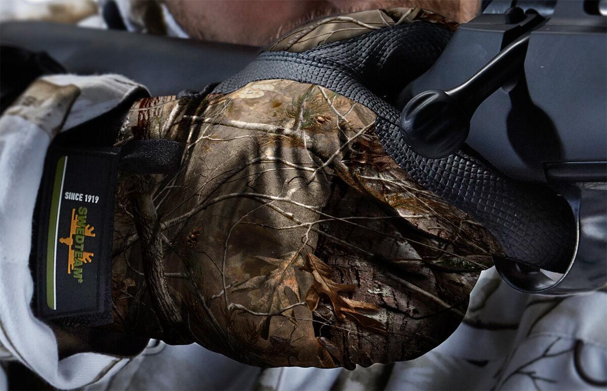 Swedteam Handschuhe Grip - 08-100 - Camouflage
