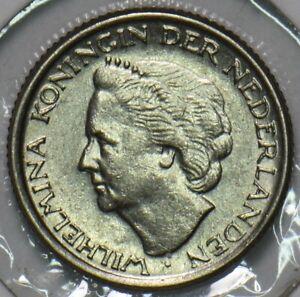 Netherlands 1948 10 Cents 903724 combine