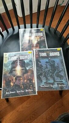 signed TIME BOMB #1 1st print JIMMY PALMIOTTI radical comic book NM COA
