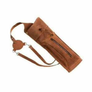 Western Vista Raider Leather Back Quiver