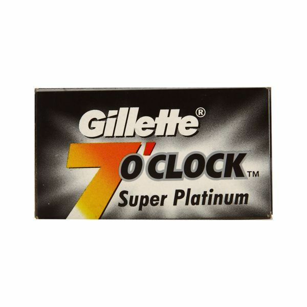 Blades Gillette 7 O'Clock Permasharp Stainless Double Edge Razor Free Shipping