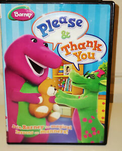 Barney Please Thank You Dvd 884487105751 Ebay