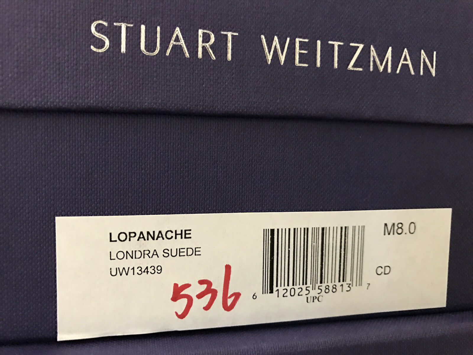NIB Stuart Weitzman Lopanache Dress kitten heel Pump Pump Pump Londra SUEDE 8 8ec2b0