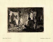 Walter Miehe 2.g. - r. - r. abendfreuden en rusia guerra pintor * era artist * 1.wk