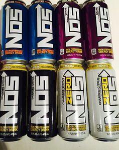 Nos Energy Drink Variety Pack 8 Pack Ebay