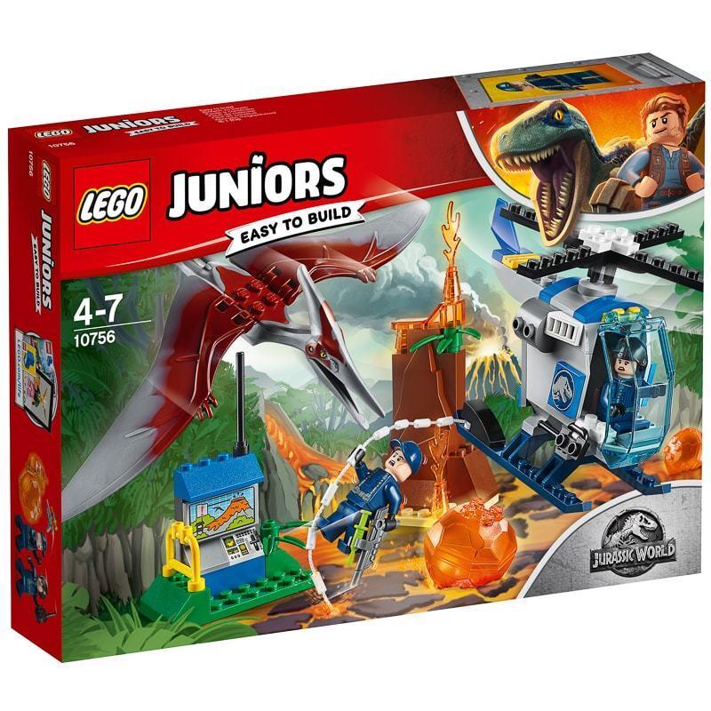 Brand New LEGO Juniors Jurassic World Escape Island