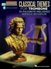 Classical Themes: Trombone Easy Instrumental Play-Along Book with Online Audio Tracks by Hal Leonard Publishing Corporation (Paperback / softback, 2013)