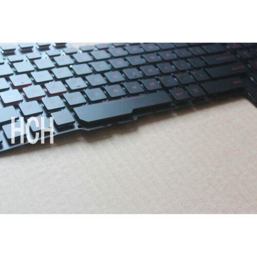New for Asus Rog G752 G752VM G752VM-RB71 G752VY G752VY-RH71 Keyboard US Backlit