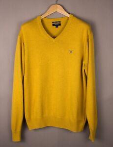 GANT-Men-Premium-Cotton-Casual-Knit-Jumper-Sweater-Size-M-ATZ668