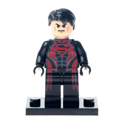 Superboy DC Comics Edition Lego Moc Minifigure Gift For Kids