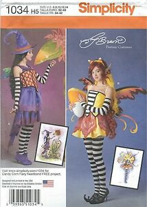 Simplicity-1034-Misses-039-Costumes-Sewing-Pattern