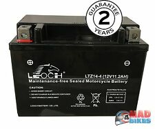 YTZ14S Genuine Leoch AGM Motorcycle Battery Honda Etc 2 Year Guarantee YTZ14 S