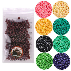 Painless-Hair-Removal-No-Strips-50g-Depilatory-Pearl-Hard-Wax-Beans-Beads-Colors