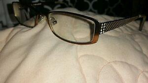 7858ade6e4c5 Jill Stuart Rx Eyeglasses JS005-6 Red Metal Full RIm Rectangular 50 ...
