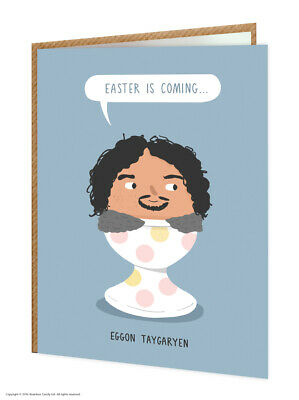 Easter Greeting Cards Funny Cute Comedy Humour Witty Joke Novelty Chocolate Egg