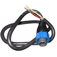 Lowrance Adapter Cable 7-Pin Blue to Bare Wires Cables and Connectors