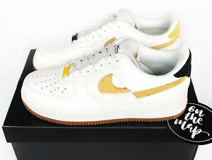 Details zu Nike Air Force 1 AF1 '07 LXX Vandalised White Yellow Black UK 5 8 9 10 US New