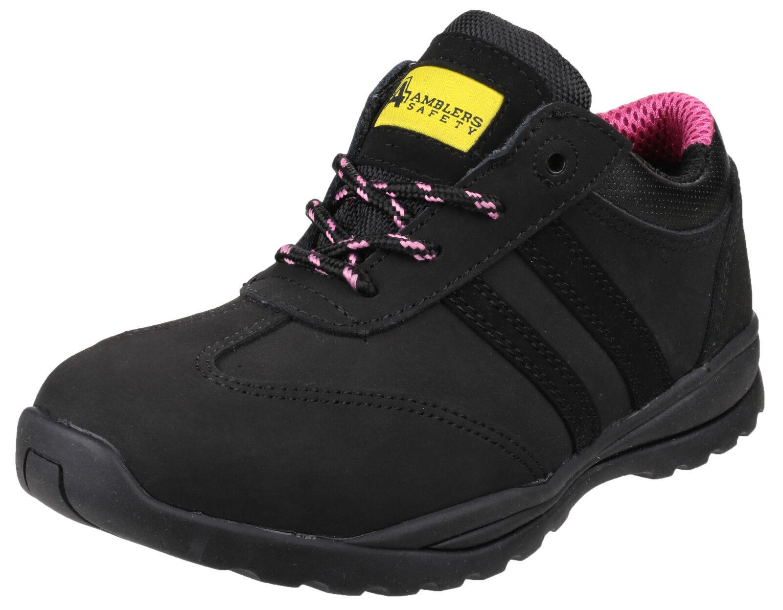Amblers FS706 Sophie Chaussures de sécurité femme Mesdames acier Toe Cap formateurs UK3-9