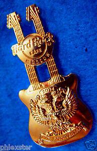 Mosca-11TH-Anniversario-Oro-Aquila-Imperiale-Emblema-Dn-Chitarra-Rigida-Rock-Pin