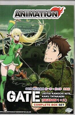 Anime Dvd Gate Jieitai Kanochi Nite Kaku Tatakaeri Season 1 2 English Dubbed 9555329249667 Ebay