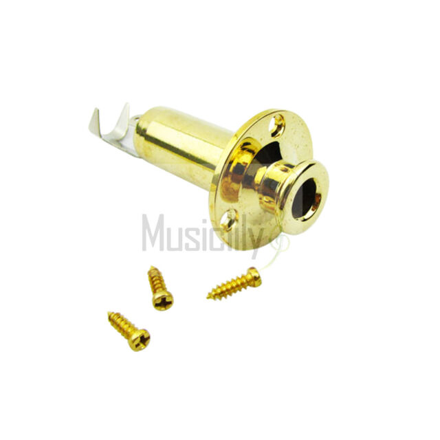 Musiclily Acoustic Guitar Flush Cylinder Output End Pin Strap Button