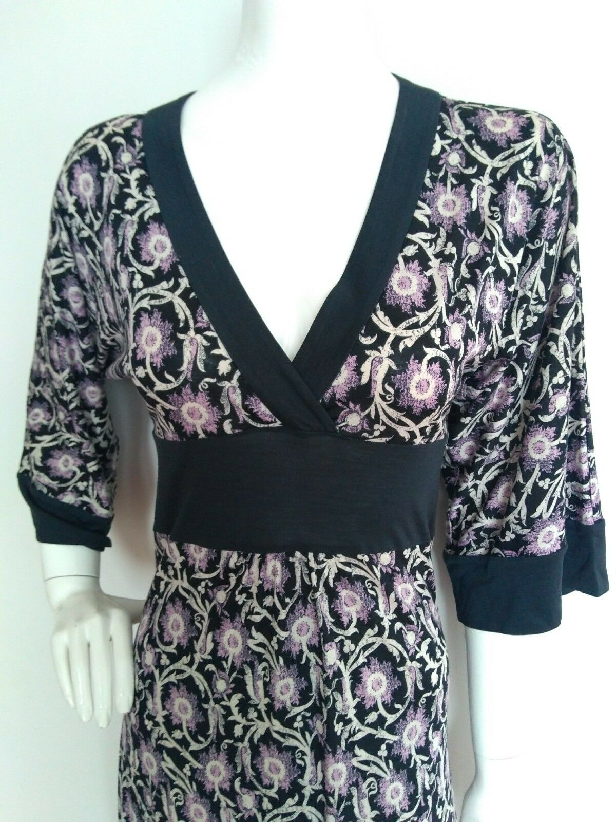 Designer DIANE VON FURSTENBERG FURSTENBERG FURSTENBERG Thea dress size 4 UK8 --USED ONCE-- below knee cfded9