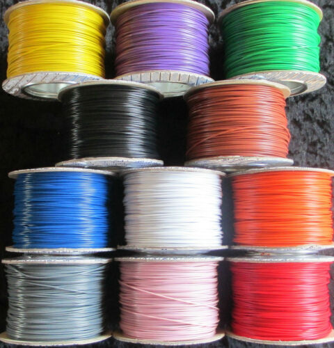 10m Layout/Doll's House Wire 1.8A 1/0.6 - Standard DC track power/points/lights