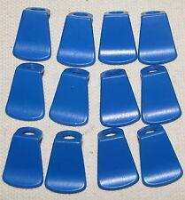 LEGO LOT OF 12 BLUE HARD PLASTIC CASTLE CAPES ACCESSORIES